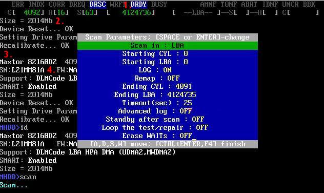 mhdd disque dur ready